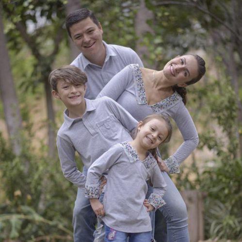 Ropa funcional coordinada familia
